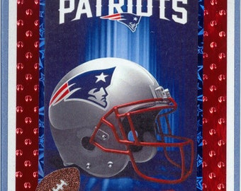 New England Patriots Birthday Card