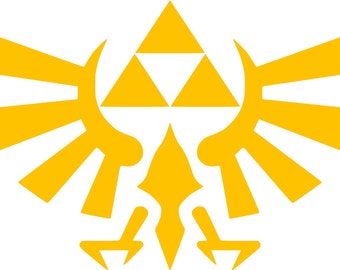 Hylian Crest  Inspired Decal
