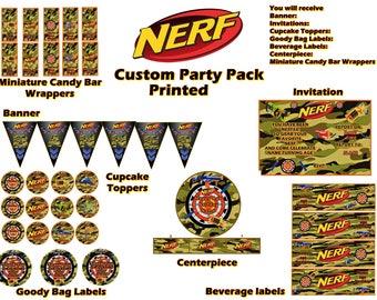Nerf party Etsy