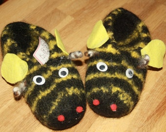 Size 29 / 30 * slippers Nassar, bed, soft shoes - always warm feet