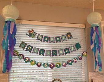 Jelly Fish / Octopus Paper Lanterns Decorations