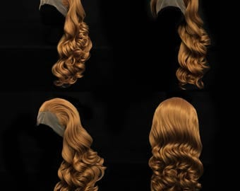 Natural Ginger lace front wig