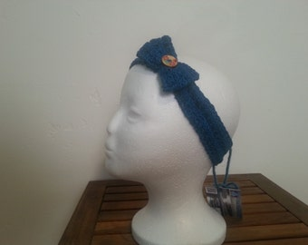 Textured Bow Headband