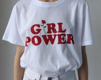SALE Girl Power Tumblr Shirt