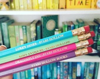 Gilmore Girls pencils - Correspondence