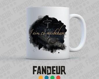 """Firefly """"I Aim to Misbehave"""" Coffee / Tea Mug"""