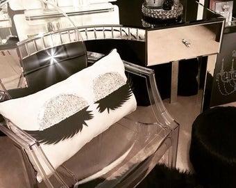 Salon decor etsy for Faux palmier ikea