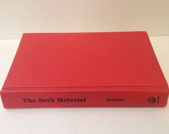 Vintage The Seth Material by Jane Roberts, First Edition Hardcover, 1970