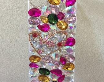 Custom Bling iPhone 7 Case, Fashion Kawaii Custom Cell Phone Case, Bling Case, Custom Gift Ideas, FREE SHIPPING