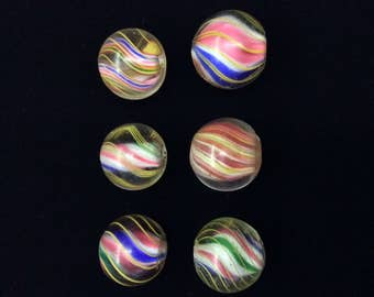Antique German Marble Beads - 1 per order