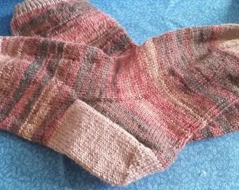 Hand Knitted Ladies Socks