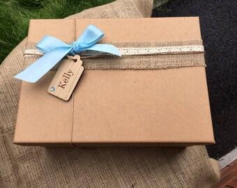 Thank you bridesmaid box