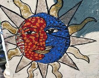 Sun Faces Art Photo