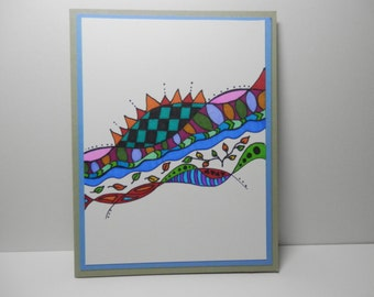 Greeting Card, Blank Card, All Occasion card, Handmade Original Card
