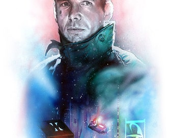 BLADE RUNNER A3 Giclee Print (Limited Edition)