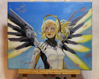 Mercy Oil painting