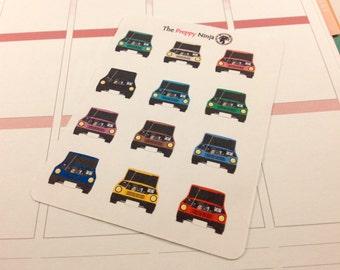 Car Repair/Maintenance Reminder Stickers