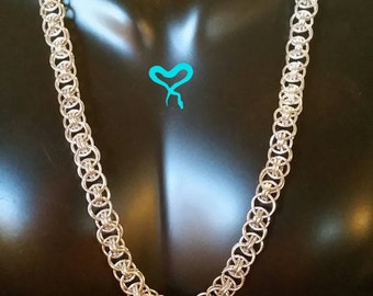 Helm Weave Chainmail Necklace