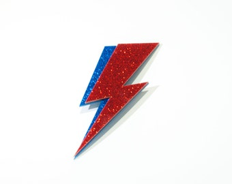 David Bowie Ornament - Ziggy Stardust Magnet!  David Bowie Christmas Ornament & Bowie Magnet!