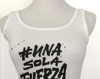 Una Sola Fuerza T-Shirt - Help Peru, Donate to Peru, Peru Shirt, Peru T-Shirt, Peru Flooding