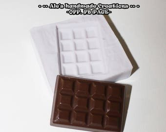 Silicone rubber mould (handmade) ' Chocolate '