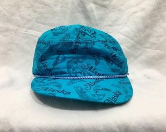 80s/90s Vintage Hat Alaksa