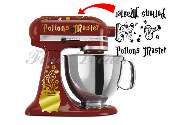 Kitchen Mixer Harry Potter Inspired Potions Master Set Decal