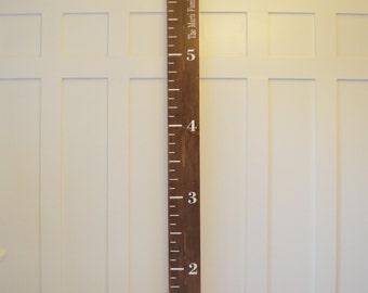 Growth Chart- Height Chart- Wooden height Chart- Painted Growth Chart- Growth Ruler- Growth Chart Ruler- Wood Growth Chart- Giant Ruler
