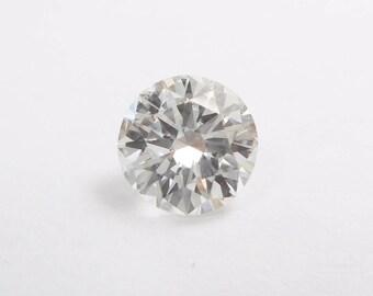 Round Diamond, Loose Diamond, Round Brilliant, Natural Diamond, .58 Carat Round Brilliant Cut Loose Natural Certified Diamond SI1 E #2852