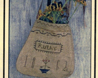 Ruthy's Sampler Pocket by Notforgotten Farm Counted Cross Stitch Pattern/Chart