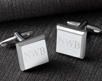 Personalized Cuff links , Monogrammed Cuff Links, Personalized Cufflinks, Engraved Cuff Links, Monogramed Cufflinks, Engraved Cufflinks