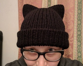 Cat Eared Hat - Adult Size Long Length