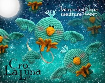 Jacqueline tape measure Tweet (PDF Crochet Pattern)