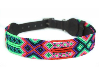 Watermelon Dog Collar - Pink/Green