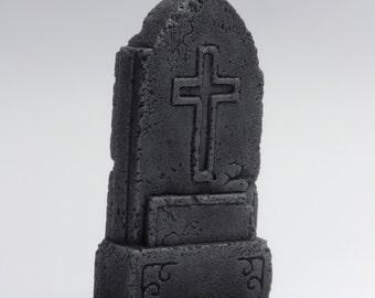 """miniature gravestone, model """"gothic"""" gravestone"""