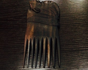 African handcrafted comb