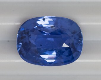 Natural Certifed Unheated Blue Sapphire 3,40 ct.