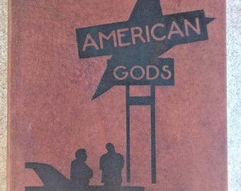 American Gods by Neil Gaiman - Leather Bound