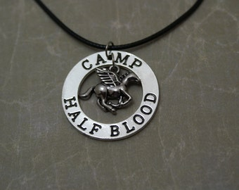 Greek Heroes Camp Necklace - Percy Jackson