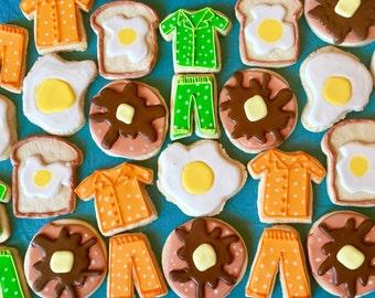 Pancakes & Pajamas Cookies