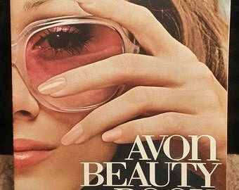 Vintage Avon. Avon Beauty Book. The Beautiful You, 1975