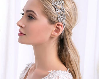 Luxury Austrian Crystal Headband