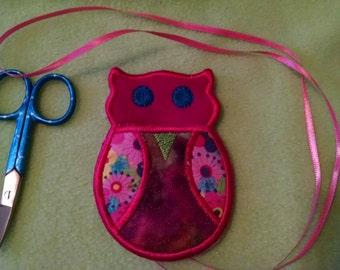 Colorful Owl Scissors Holder, Owl, Scissors
