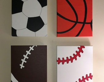 Sports Theme paintings