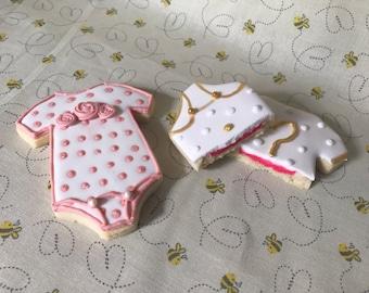 Gender Reveal Cookies (MINIMUM QUANTITY 12)