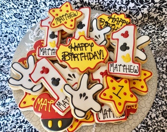 Mickey First Birthday Set!
