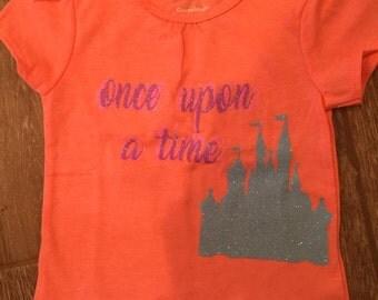 Once upon a time Disney shirt