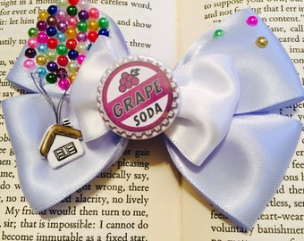Adventure is out there 'Up' Hair Bow