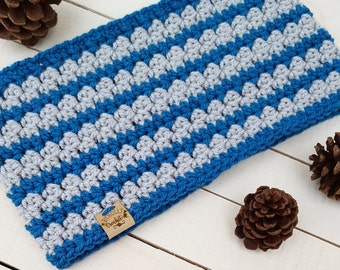Crochet Pattern / Lizzy Infinity Scarf and Cowl / Sizes Baby to Adult
