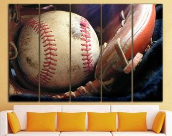 Baseball canvas Baseball print Baseball wall decor Baseball wall art Sport wall art Sport wall decor Sport canvas Sport print decor